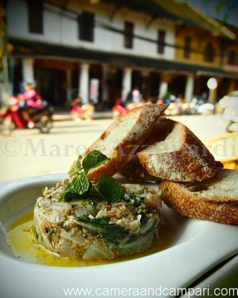 Dining alfresco in Luang Prabang