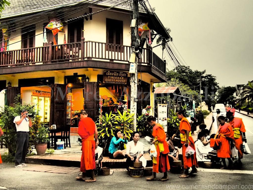 Giving Alms Luang Prabang