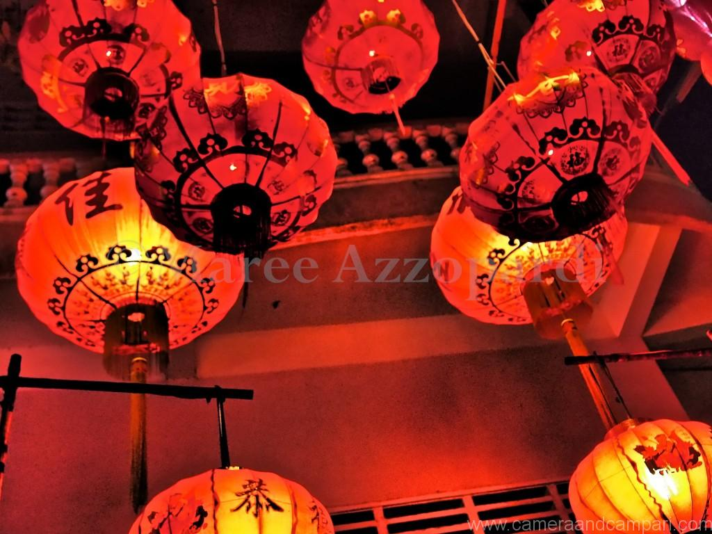 Red Lanterns at Miss Wong