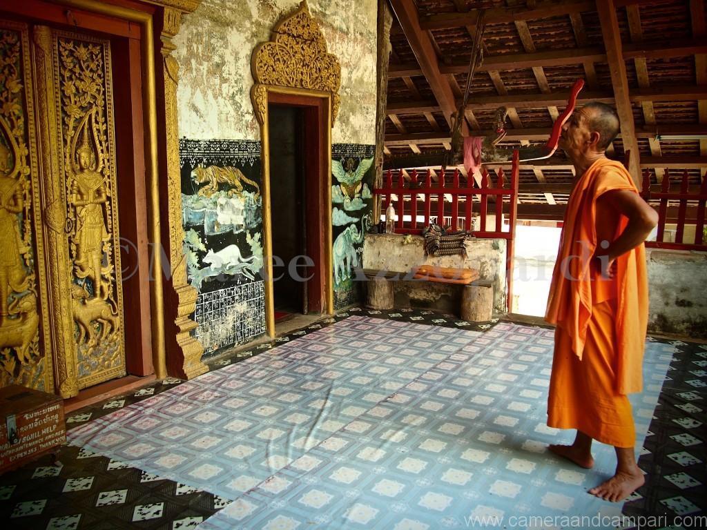 Wat near Pak Oh Caves in Luang Prabang